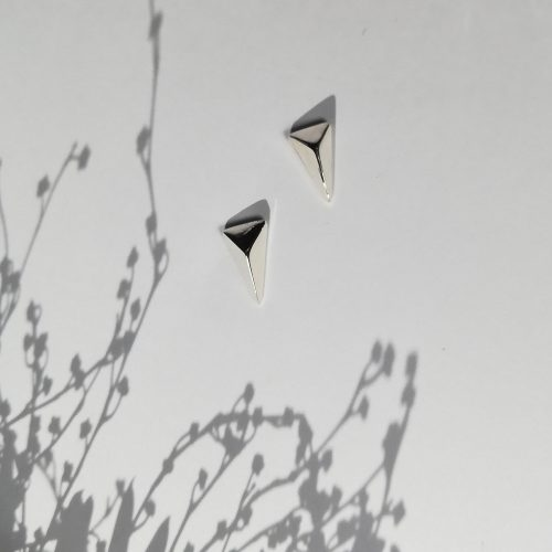 Mini-Facet-Long-Triangle-Stud-Earrings